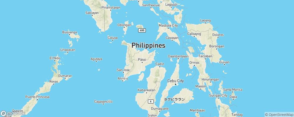 Karte Philippinen.Autogas Tankstellen In Philippinen Mylpg Eu